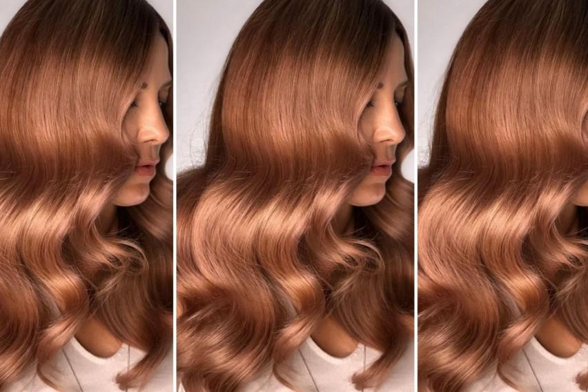 Есенски тренд: Коса во златни црвени нијанси
